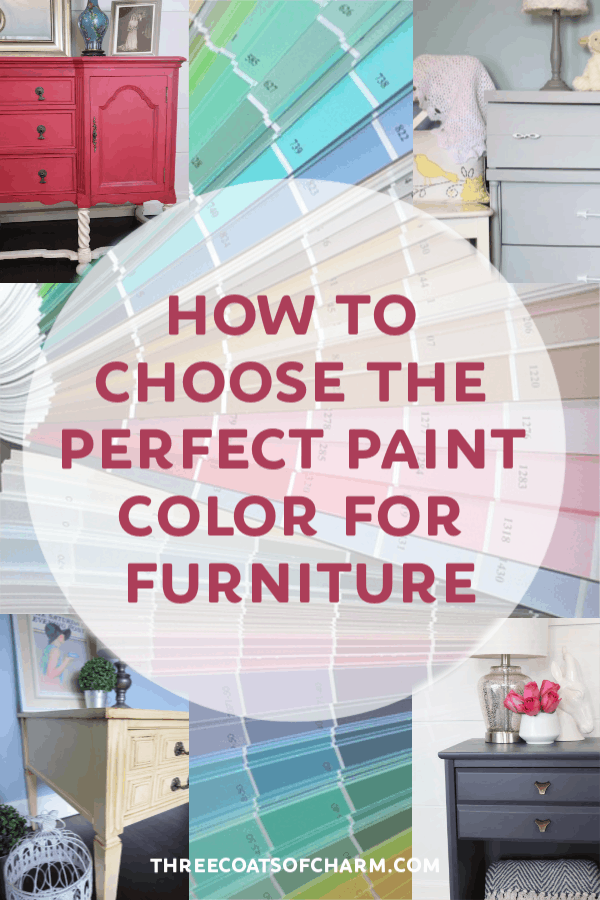 Perfect Paint Color For Furniture, How To Pick Paint Color For Furniture