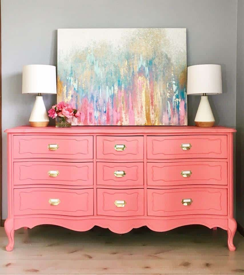 How To Choose The Perfect Paint Color For Furniture Three Coats Of Charm